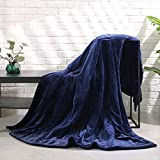MaxKare Large Electric Heated Blanket Adjustable Timer 4 Heating Levels, 62' x 84'in Heated Throw Blanket Auto-Off Feature Machine-Washable Fabrics Full Body Comfort