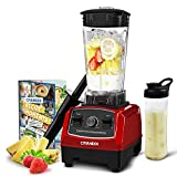 CRANDDI Countertop Blender, High-Speed Smoothie Blender with 70oz Pitcher for Family Size Frozen...