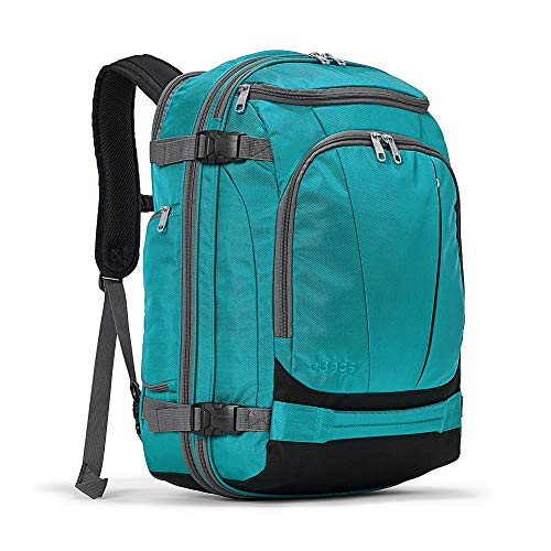 eBags TLS Mother Lode Weekender Junior 19' Carry-On Travel Backpack - Fits Up to 17.5' Laptop - (Tropical Turquoise)