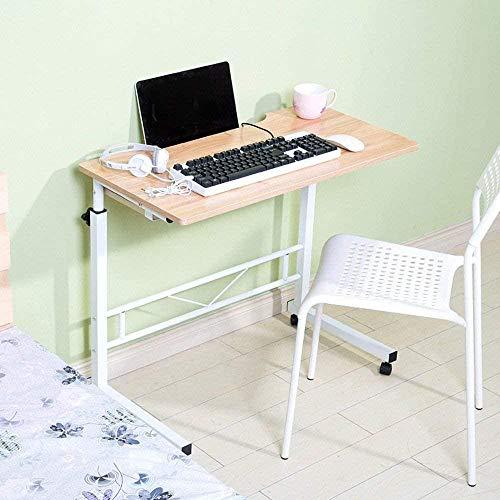 Mesa plegable Lazy Mesa de doble elevación para ordenador se puede configurar para mover el escritorio, ahorra espacio, 5 unidades