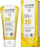 [page_title]-lavera Sensitiv Sonnencreme Anti-Age LSF 30 • Sonnenschutz • Lichtschutzfaktor 30 • Naturkosmetik • vegan • zertifiziert • 50 ml