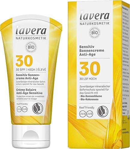 Lavera Sensitiv Sonnencreme Anti-Age LSF 30, 50 ml