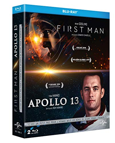 First Man + Apollo 13 [Francia] [Blu-ray]