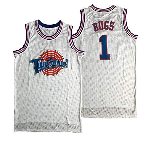 Camiseta de baloncesto para hombre con diseño de Michael 23 Space Jam - - Large
