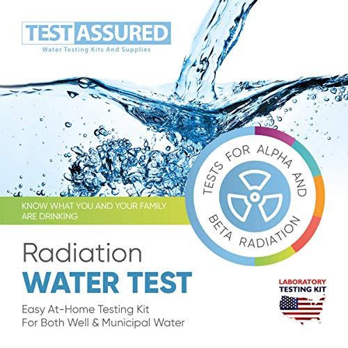 Test-gesichertes Vollwasserstrahlungs-Test-Kit – einfach zu Hause – Labor-Test-Set für Alpha- und Beta-Strahlung