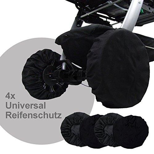 BAMBINIWELT Radschutz Räderschutz Reifentaschen Schutzhülle für Kinderwagen Buggy