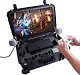 Case Club Waterproof Xbox Series X or S Portable Gaming Station with Built-in 24' 1080p Monitor, Cooling Fans, & Speakers. Fits Console, Controllers, & Games, which are NOT Included