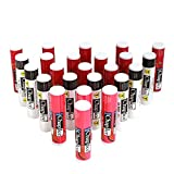 Chap-Ice Assorted Lip Balm – Watermelon, Original & Cherry Flavors – 24-Count Refill Pack