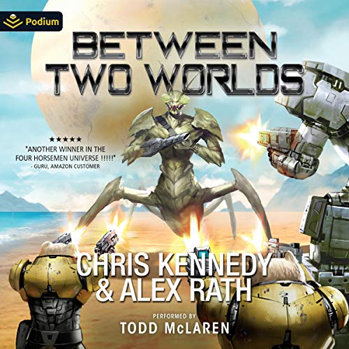 Between Two Worlds  By  cover art
