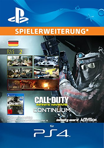 Call of Duty: Infinite Warfare DLC 2: Continuum Edition DLC [PS4 Download Code - deutsches Konto]