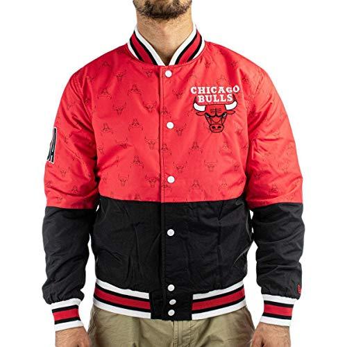 New Era Chicago Bulls Modelo NBA Bomber CHIBUL FDR Marca, Red, M