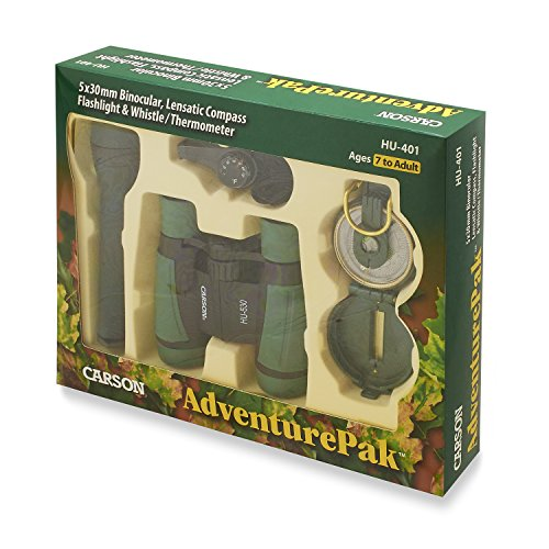 Carson AdventurePak verrekijker met talloze accessoires voor outdoor-gebruik