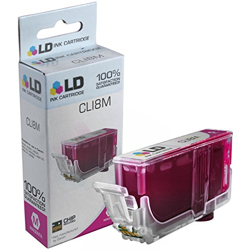 LD Compatible Ink Cartridge Replacement for Canon CLI8M 0622B002 (Magenta)