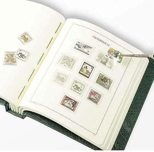 tienda de bajo costo Leuchtturm 341513 SF-álbum preimpreso preimpreso preimpreso Austria 2005-2011, con cajetín, verde  buena calidad