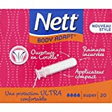 Nett - Body Adapt avec Applicateur Compact Super boîte de 20 Tampons