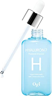 Ogi Hyaluron7 Powered Ampoule 100ml / 3.38 fl.oz I Daily moisturizing ampoule for face, Allergen free, Paraben free, Miner...