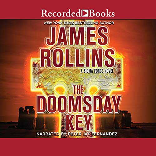 The Doomsday Key audiobook cover art