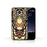 Stuff4 Phone Case/Cover for Meizu Pro 5 / Tiger-Sepia