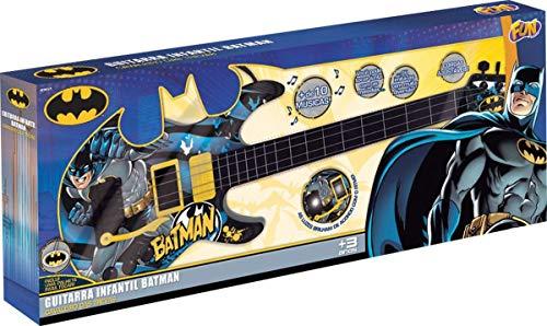 Batman - Guitarra Infantil Batman Cavaleiro das Trevas Fun