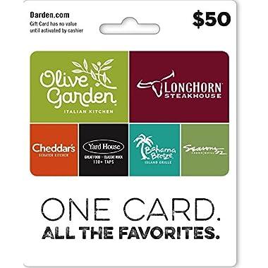 Darden Restaurants Gift Card $50