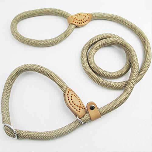 AEWB Corde en Nylon pour Chien avec Psoriasis Ronde P Corde de Dressage P Corde de Serrage télescopique