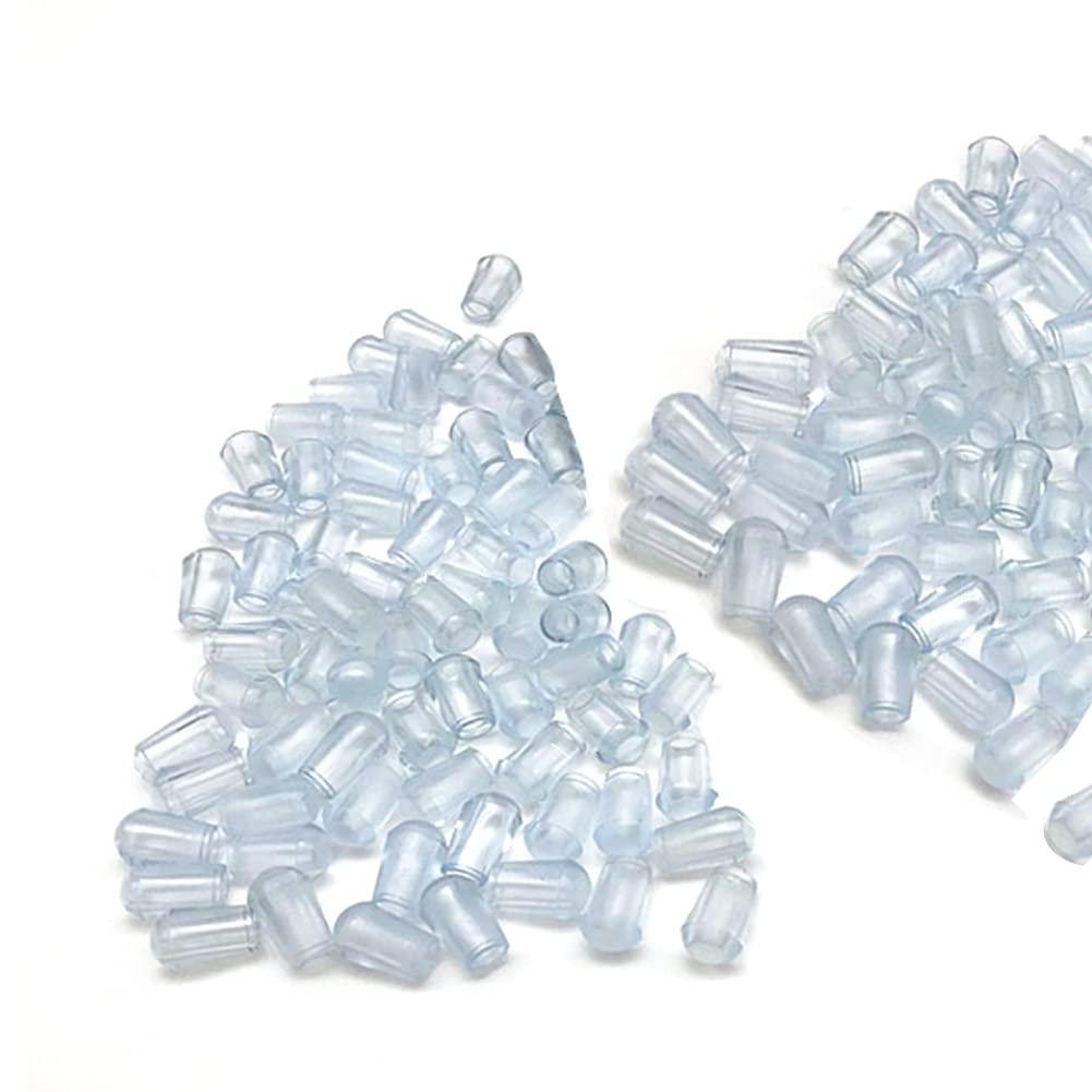 Kyien 200Pcs Rubber End Caps Diameter Silicone Ca Anti SALENEW very popular! Wire Boston Mall Skid