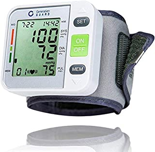 Clinical Automatic Blood Pressure Monitor FDA Approved by Generation Guard with Large Screen Display Portable Case