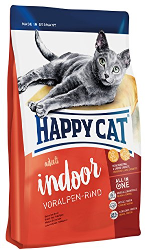 Happy Cat Indoor Adult Voralpen-Rind, 1er Pack (1 x 1.4 kg)