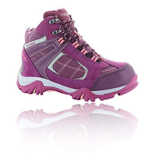HI-TEC Altitude VI Lite I WP JRG, Stivali da Escursionismo Alti Unisex-Bambini, Rosa (Amaranth/Boysenberry/Blossom 76), 38 EU