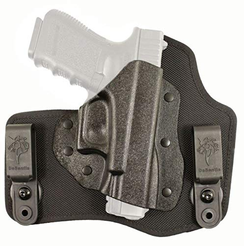 Gunhide, M65, The Invader, Inside The Pants Holster, Fits SIG SAUER P365, Right Hand, Black Nylon