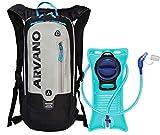 6L Mini Bicicleta mochila impermeable, paquete de hidratación con mochila 2L bolsa de agua...