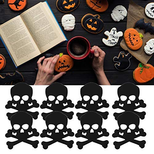 HEEPDD 60g Halloween Confetti, Pompoen Spin Webs Heks Ghost Skeleton PVC Confetti voor DIY Halloween Night Party Tafel Decoratie