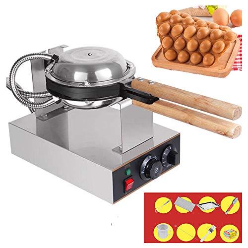 QMKJ Elektrische Blase Waffeleisen Maschine Hong Kong eggettes Waffeleisen für Gewerbe Non-Stick 0-250 ℃ Temperatur Einstellbare 220V