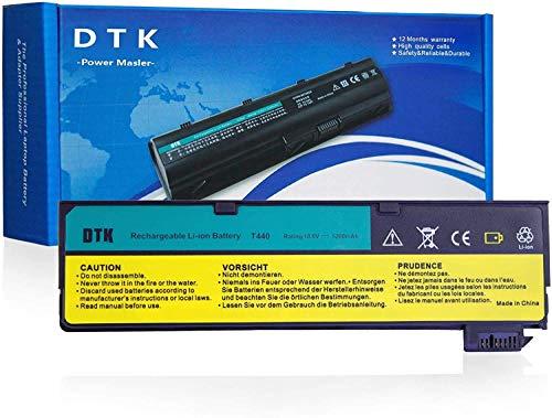 DTK Notebook Laptop Batterie Li-ion Akku für Lenovo IBM Thinkpad L450 L460 T440s T440 T450 T450s T460 T460P T550 T560 P50S W550s X240 X250 X260 Series[5200mAh]