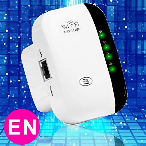 WLAN Signal Verstarke,Mini WLAN Repeater Signal WLAN Verstaerker(300 Mbit/s, LAN-Port, WPS,Access Point-Modus) WiFi Repeater Ranger Extender kompatibel mit Allen WLAN Geräten