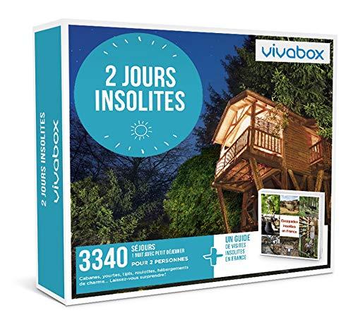 Vivabox - Coffret cadeau couple - 2 JOURS INSOLITES - 3340 week-ends insolites + 1 guide de visites