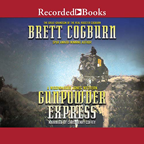 Gunpowder Express audiobook cover art