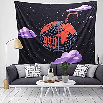 999 Tapestry Wall Hanging Tapestries 3D Boutique Art tapestry Colorful Cute Wall Blanket Interior Home Decorations for Living Room Bedroom Dorm Decor  51.2 x 59.1 Inch