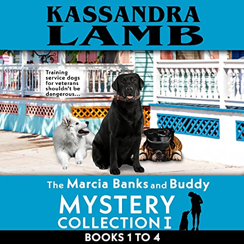 The Marcia Banks and Buddy Mystery Collection I: Books 1-4 cover art