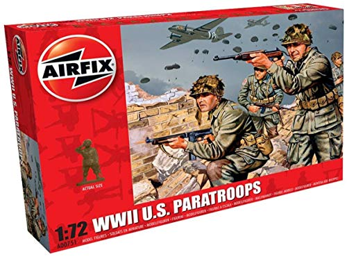 Price comparison product image Airfix A00751 WWII US Troops Figures 1:72 Military Soldiers Plastic Model Kit