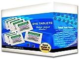 Case of Toilet Leak Detecting Dye Tablets for Silent Leaks in The Bathroom | 2,000 Packs