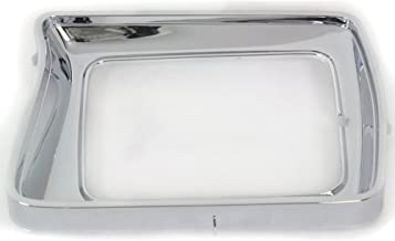 Headlight Door compatible with Ford F-Series 78-79 RH Chrome w/Rectangular Headlamps Right Side