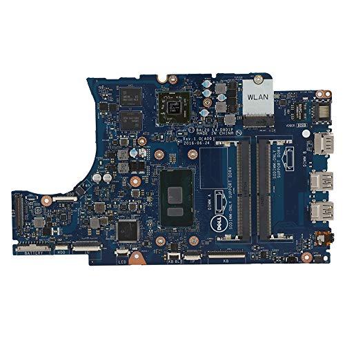 Placa base para computadora portátil, I5-7200U / I5-6200U CPU Procesador de computadora portátil Desensamblador profesional Placa base PC Piezas de computadora portátil, para DELL 5567/5767(I5-7200U)