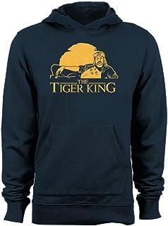 GEEK TEEZ Tiger Lion King Mashup Men's Hoodie