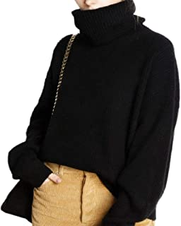 Sheep Winter Turtleneck Sweater Women Loose Head Thicker Short Cashmere Sweater Female Oversize Sweater