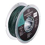 HATCHBOX Sparkle PLA 3D Printer Filament, Dimensional Accuracy +/- 0.03 mm, 1 kg Spool, 1.75 mm, Green