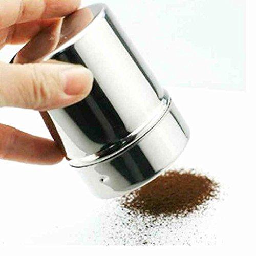 Bomcomi Acciaio Inox Potenza Bottiglia Cacao in Polvere caffè condimento Bottiglia