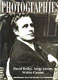 Photographies magazine n°46 - david bailey - serge lutens - walter carone - numerique: de la retouche a la creation