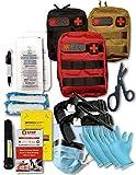 Bleeding Control Kit, Basic Trauma Pack, Featuring 2 Emergency Tourniquets, Emergency Physician Designed