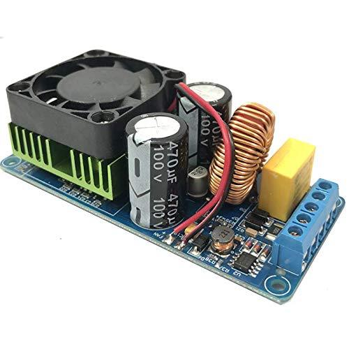 Songhe IRS2092S 500W Mono Channel Digital Amplifier Class D HiFi Power Amp Board with Fan